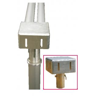 Tap adapter for double curtain point  1