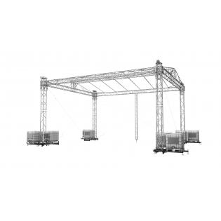 Double Pitch Roof 10x8m / 8x6m  3